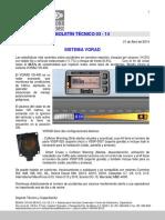 Tec 03-14 - Sistema Vorad