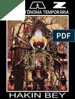 TAZ_ Zona Autonoma Temporaria - Hakim Bey.epub