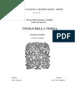 Frontespizio Tesina Analisi Dei Repertori 2
