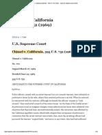 Chimel v. California (Full Text) __ 395 U.S