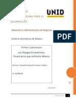 Los Riesgos Económicos-Financieros Que Enfrenta México