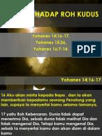 Dosa Terhadap Roh Kudus