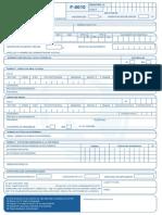 IB Formulario F 0010