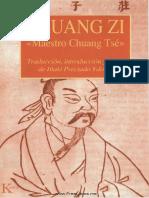 Zhuang Zi - El Maestro Chuang Tse - Iñaki Preciado - Kairos
