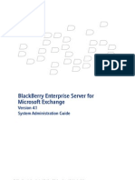 Blackberry Enterprise Server System Administration Guide