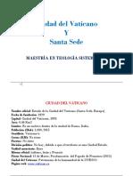 Ciudad Del Vaticano y Santa Sede