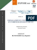 Expose Linux configuration serveur