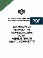 Bahan Kursus JU (5-7 April 2013)