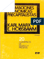 Marx Hobsbawm Formaciones Ec Precapitalistas Ocr Rdx