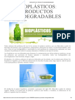 Bioplásticos_ Productos Biodegradables