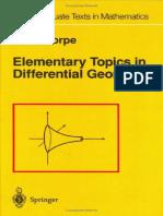 Curso de Geometría Diferencial_Parte I_Curvas y Superficies