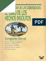 Enciclopedia de Las Curiosidade - Gregorio Doval