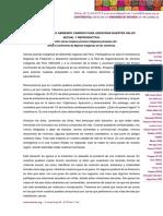 Declaración de las mujeres jóvenes indígenas peruanas del ECMIA