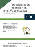 6.-Niños y Hospitalización