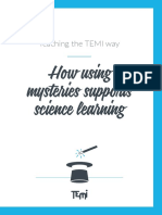 TEMI How using mysteries supports science learning