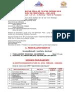 ORDEN DE DESFILE ESCOLAR FIESTAS PATRIAS 2018 CAMPEON DE CAMPEONES UGEL SUR.pdf