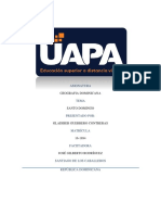 Tarea 1 Geografia Dominicana II