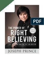 O Poder de Crer Corretamente (1)