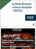 Analisis Multi Kriteria Pak Ludfi