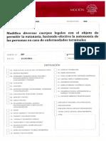 Proyecto de Ley sobre Eutanasia, Chile