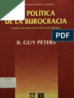 Peters-La Politica de La Burocracia