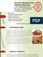 Informe 3 - Efecto de La Temperatura y La Humedad en El Deterioro Microbiologico