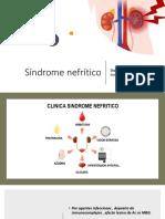 Síndrome nefrítico