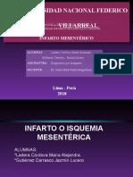 PPT ISQUEMIA MESENTERICA