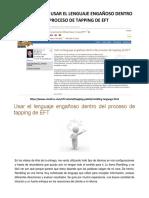 01.1.1.1.1.1.2.3. Usar El Lenguaje Engañoso Dentro Del Proceso de Tapping de Eft