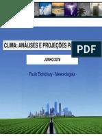 CLIMA RELATÓRIO TENDÊNCIAS 2018-2019