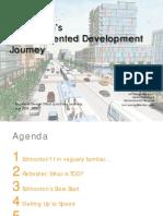 Edmonton's Transit Oriented Development Journey - Tom Young - Stantec