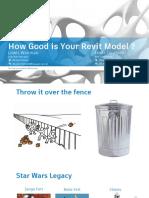 How Good is Your Revit Model