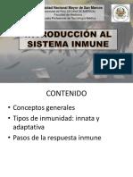T1-Introducción Al Sistema Inmune