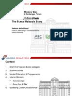 7 Bursa Malaysia Story Sunum