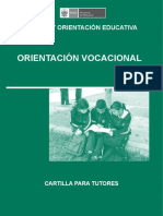 Cartilla Orientacion Vocacional i