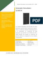 Generador fotovoltaico SLX60CM