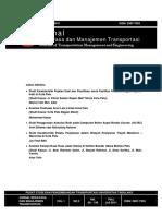 Sampul JUrnal Transportasi_ISSN_JULI 2011