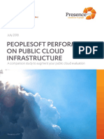 PeopleSoft Performance on AWS vs Azure vs Oracle Cloud