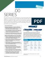 Datasheet Palo alto 3000 series