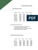 Pauta Control - Semana Siete - Costos y Presupuestos