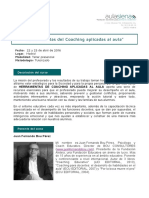 Coaching Aplicado en Aula