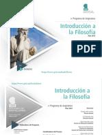 Programa Introducción a la  Filosofía