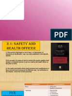 Safety and Health Officer