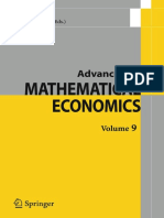 Advances in Mathematical Economics, Volume 9