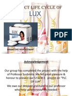 Product Life Cycle of Lux Arun