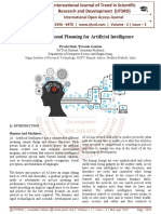 Transformational Planning for Artificial Intelligence