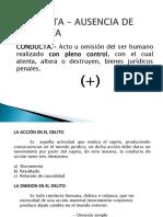 Conducta - Ausencia