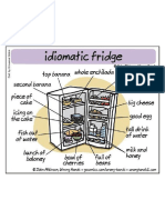 Idioms Related to the Fridge