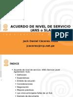 Acuerdo de Nivel de Servicio