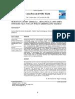 Analisis Faktor Kesehatan Dan Keselamatan Kerja (k3) Yang Signifikan Mempengaruhi Kecelakaan Kerja Pada Proyek Pembangunan Apartement Student Castle
